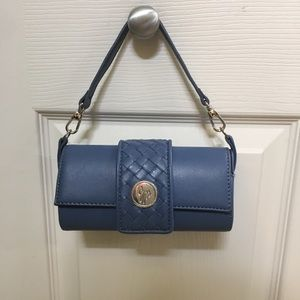 CUTE BLUE SMALL PURSE OR WRISTLET YOU WILL LOVE